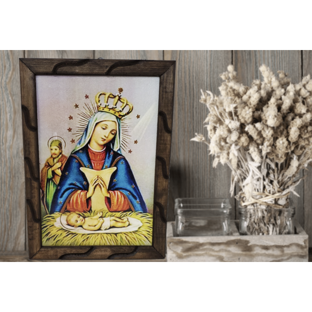 Cuadro rústico - Nuestra Señora de...