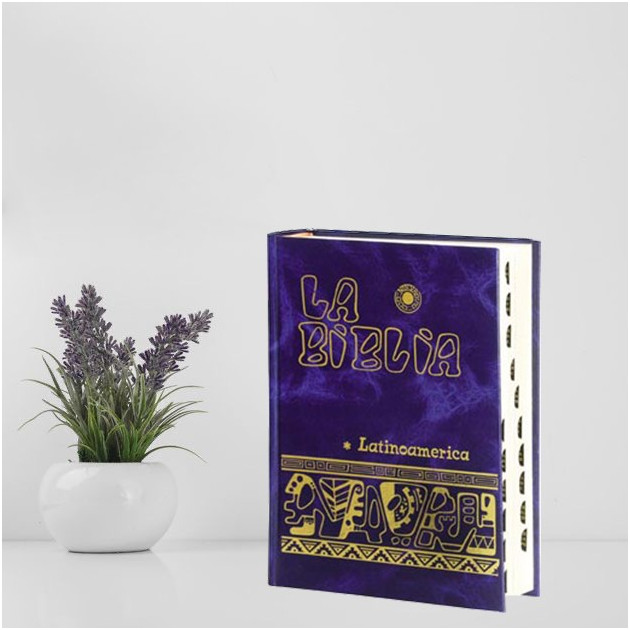 Biblia latinoamericana bolsillo  con...