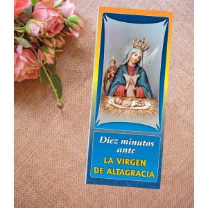 Diez minutos ante La Virgen...