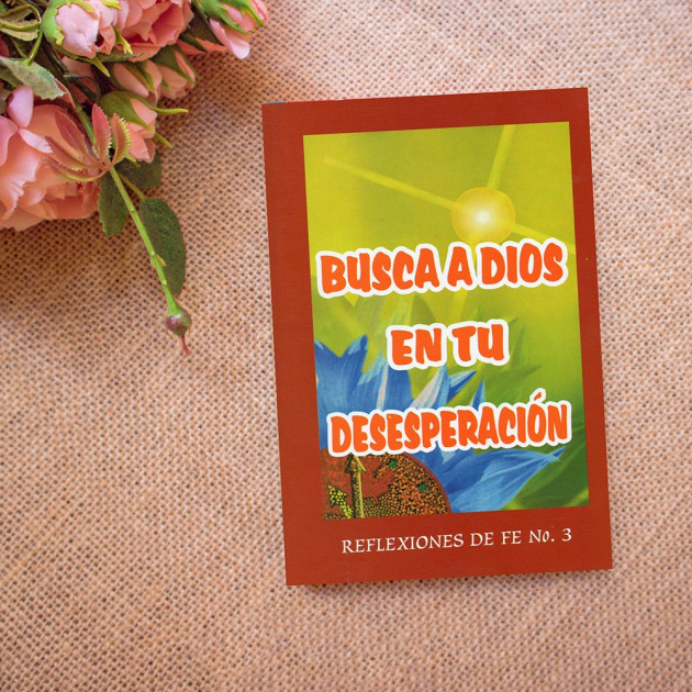 Busca a Dios en tu desesperación