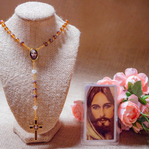 Rosary with the image of...
