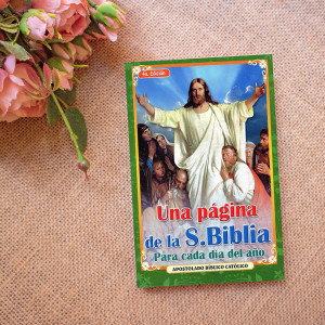Una pagina de la S. Biblia...